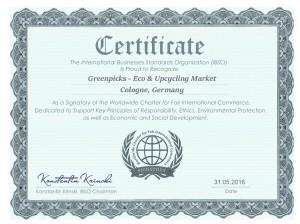 weltweite Charta für Fairen Internationalen Handel
