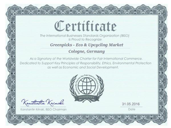 © Greenpicks: weltweite Charta für Fairen Internationalen Handel